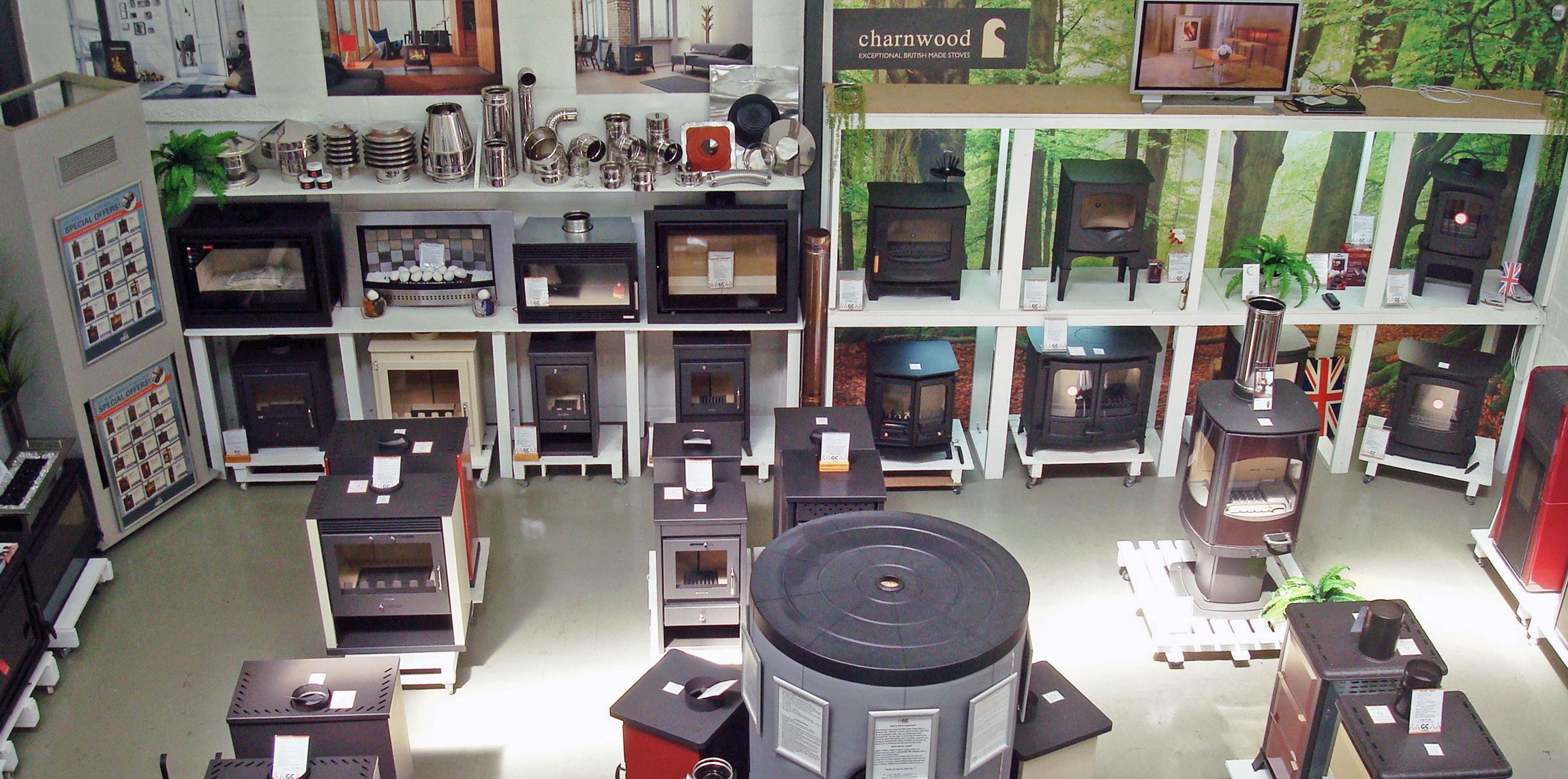 GC Fires showroom - Somerset West, Cape Town