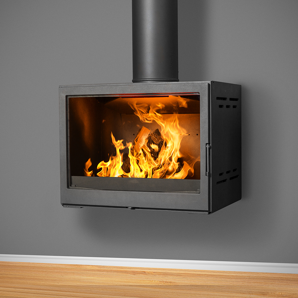 Bavorov Wall Mounted Fireplace - 10-14kW