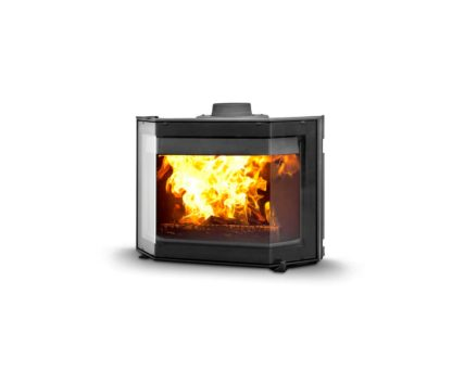 GC Fires - Dovre Phoenix 2 - closed combustion built-in fireplace 9kW - cast iron (1)