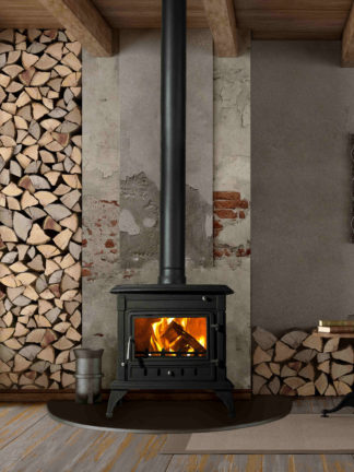 Sentinel 943 Grande - cast iron closed combustion fireaplace (1)