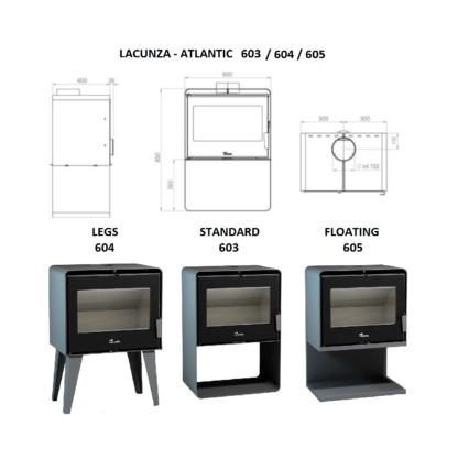 Lacunza - Atlantic 603 freestanding
