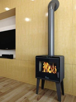 GC Fires - Lacunza Atlantic 604 closed combusion fireplace - wood-burning 10kW
