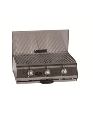 Home Fires - 3 Burner Stainless Steel gasbraai