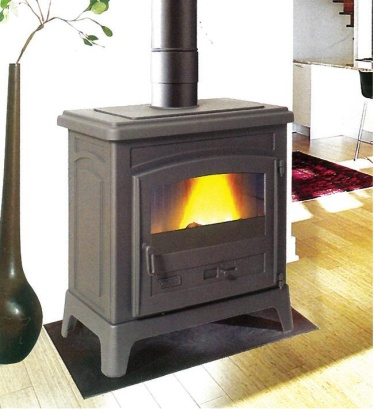 GC Fires - Godin Fonteval 10kW - closed combustion fireplace - wood burning