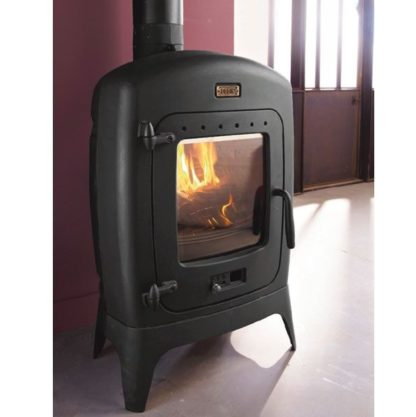GC Fires - Godin Madras 9kW - closed combustion fireplace - wood burning