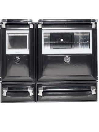 GC Fires - Lacunza Vulcano 7T - 10kW wood fired cooker oven - closed combustion fireplace