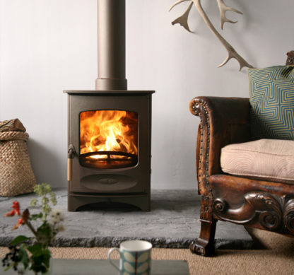 GC Fires - Charnwood C4 - cast iron closed combustion fireplace 2-5.5kW (1)