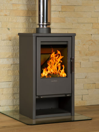 GC Fires - Hydrofire Regina 9-12kW - steel closed combustion fireplace (1)