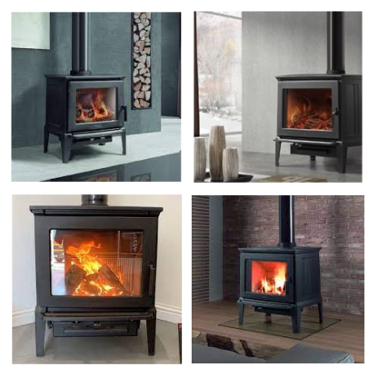 GC Fires - Hergom E-30 M - 12kW - cast iron closed combustion fireplace (2)