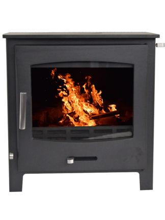 GC Fires - Invncible - Devon 7kW - closed combustion fireplace - multifuel (1)