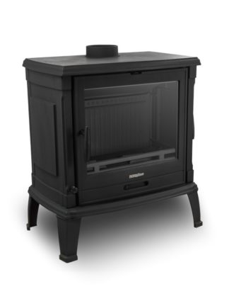 GC Fires - NORDflam Toria with side door - 15kW - cast iron - closed combustion fireplace - ecodesign 2022 (3)