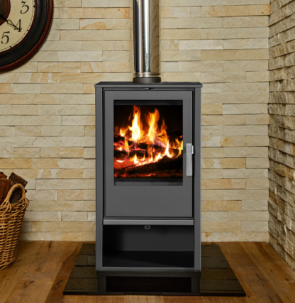 GC Fires - Hydrofire Capri 7.6kW - Eco-Design Ready - steel - closed combustion fireplace (4)