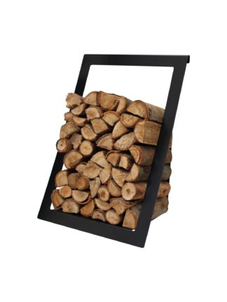 GC FIRES_Northern Flame-Wall-mounted-Wood-Storage-Black_5